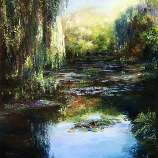 Monet's Garden by Kathleen Brodeur