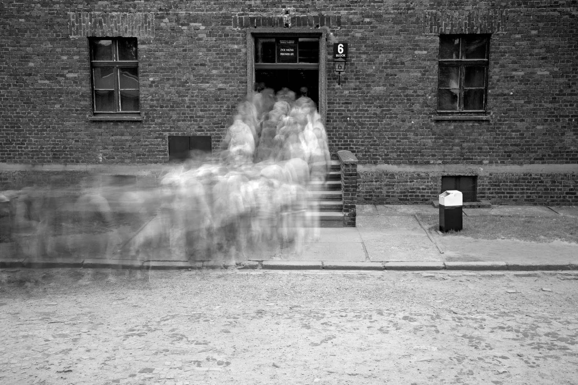 Ghosts Crematorium During The Holocaust