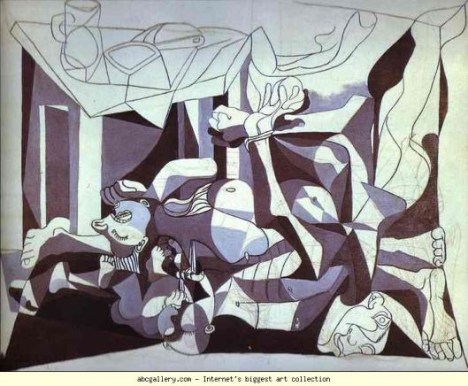 The Charnel House, Pablo Picasso