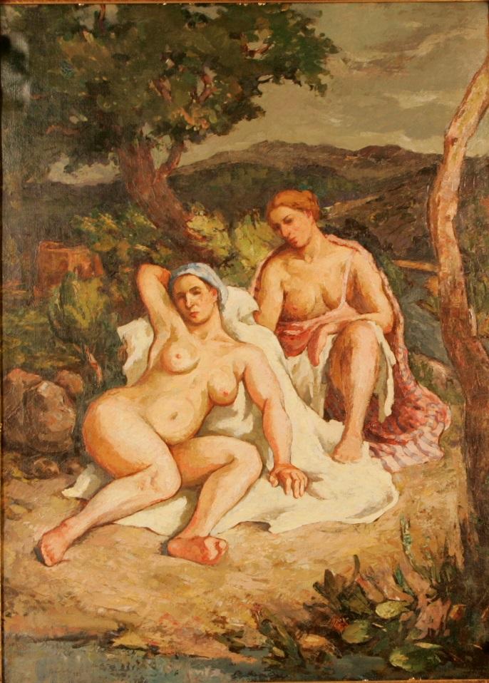 Adam Baltatu - Nuduri in peisaj
