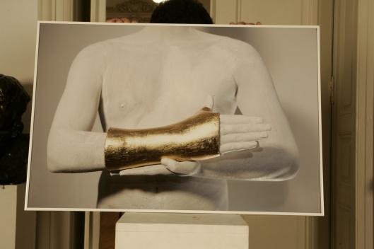 Mihai Zgondoiu - Artist's Golden Hand Triptic
