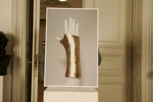 Mihai Zgondoiu -Artist`s Golden Hand  Triptic