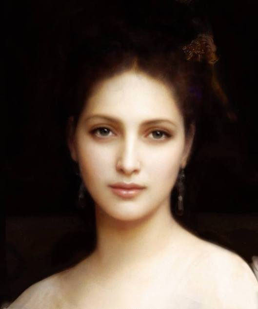 """Aphrodite"" by William-Adolphe Bouguereau"