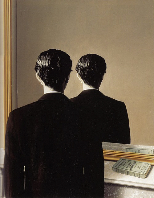 """Not to be Reproduced"" by Rene Magritte"